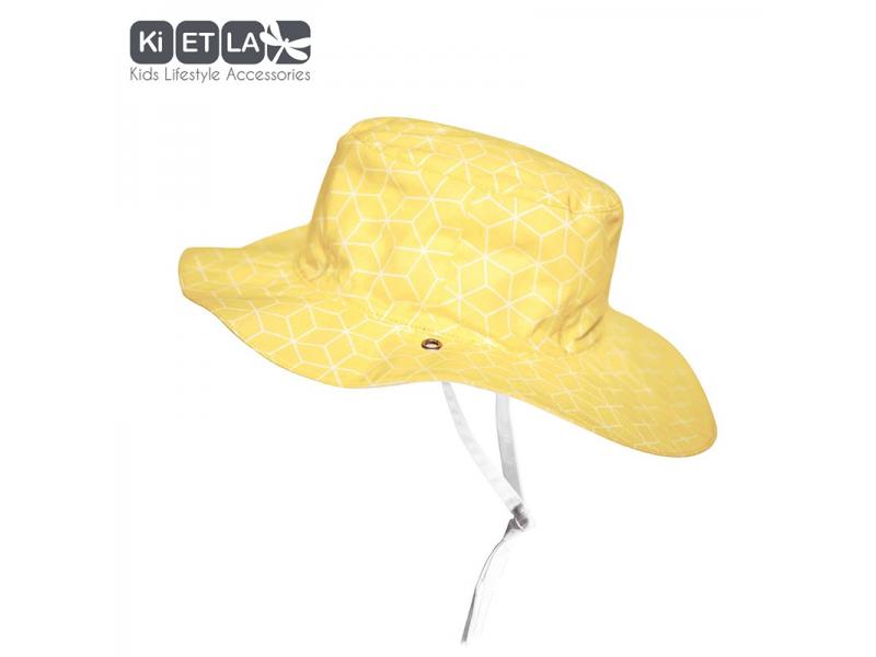Ki ET LA Klobouček oboustranný s UV ochranou-56cm-56cm - cubic sun