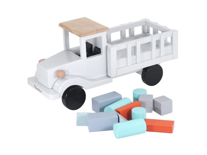 Dřevěné nákladní auto 1