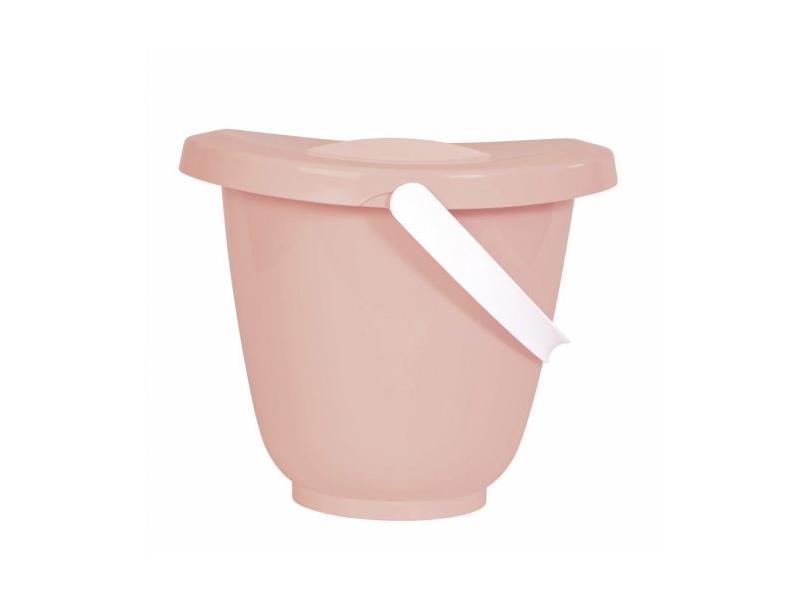 Kyblík na pleny s víkem Cloud Pink 1