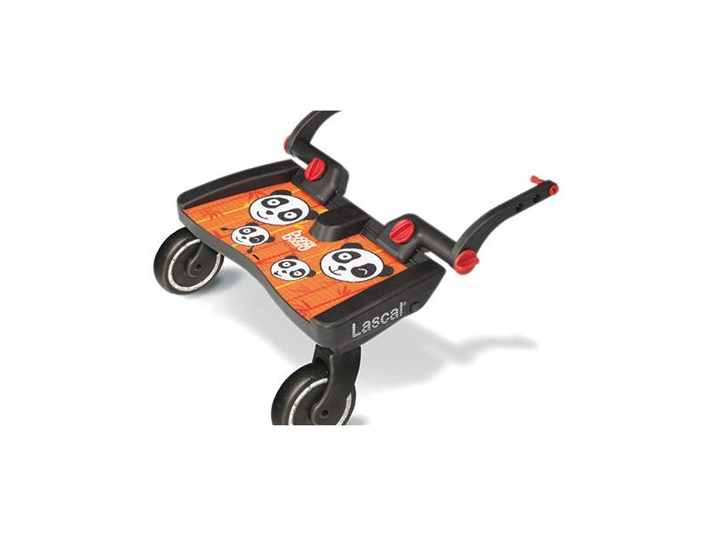 Lascal BUGGY BOARD MAXI - Panda -oranžový - závěsné stupátko
