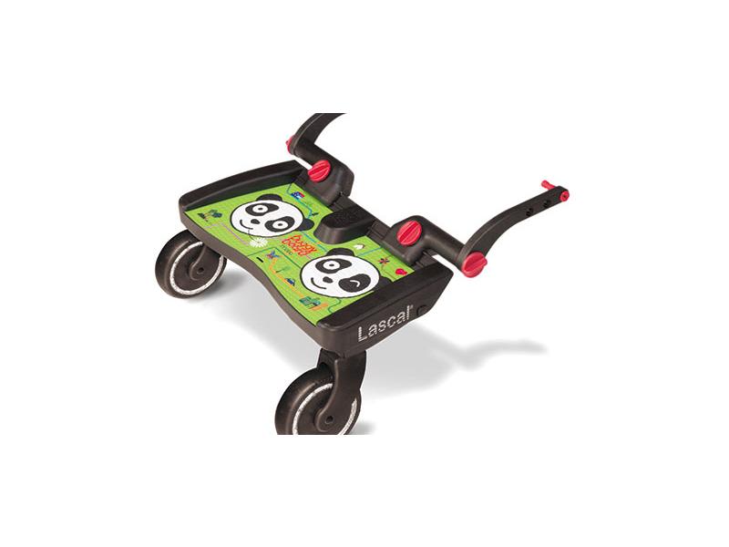 Lascal BUGGY BOARD MAXI - Panda -zelený- závěsné stupátko