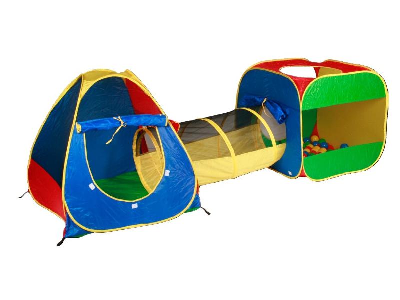 Zopa Domeček s míčky a tunelem