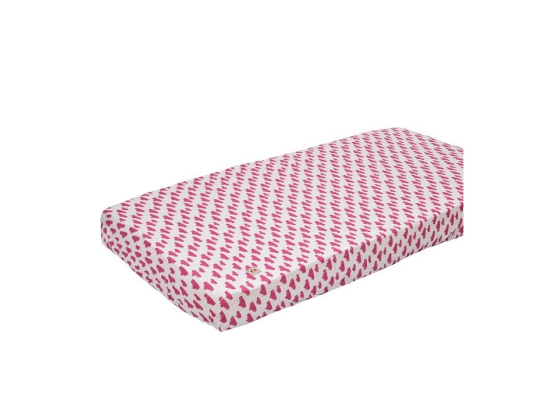 Lodger Slumber Cotton do postýlky 70x140cm Rosa