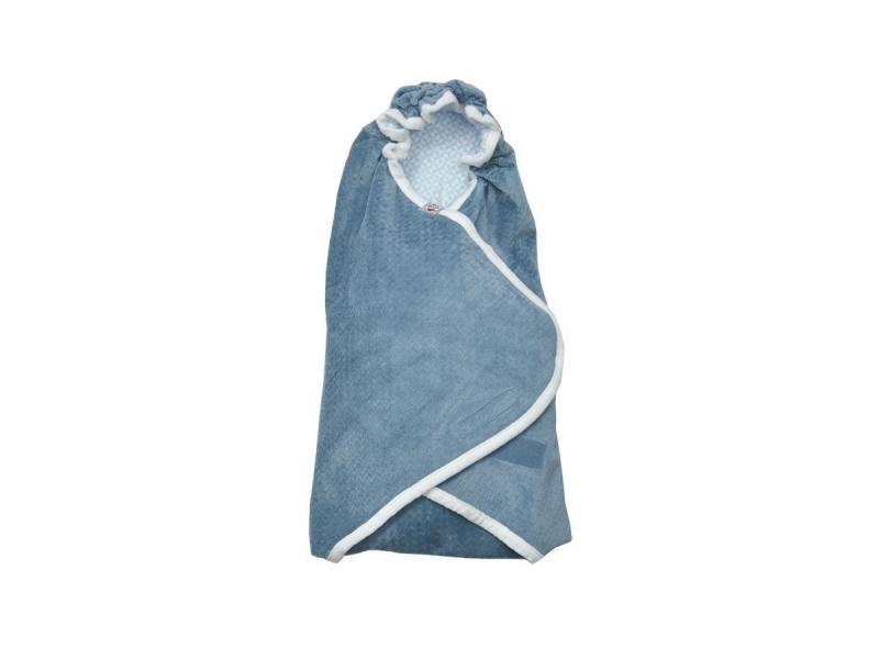 Lodger Wrapper Newborn Scandinavian Flannel Steel-Grey