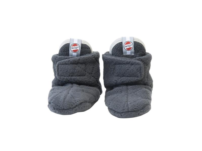 Lodger Slipper Fleece Scandinavian Coal 12-18 měsíců