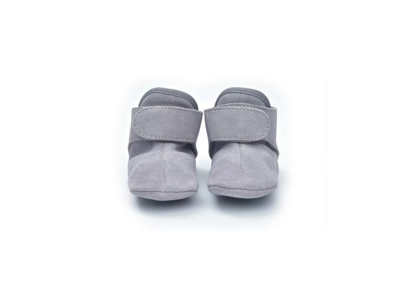 Lodger Walker Leather Basic Light Grey 15 - 18 měsíců