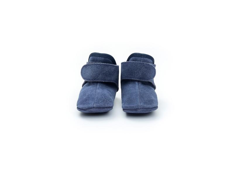 Lodger Walker Leather Basic Denim Blue 6 - 12 měsíců