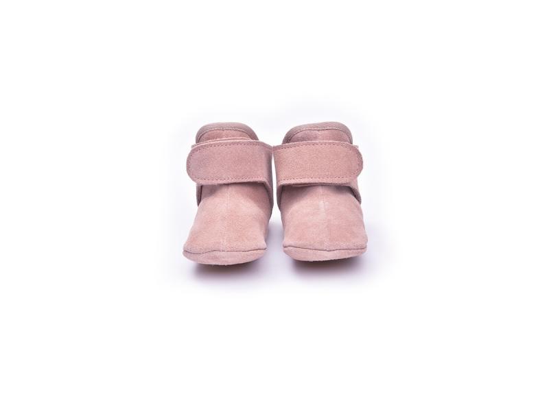 Lodger Walker Leather Basic Pink 6 - 12 měsíců