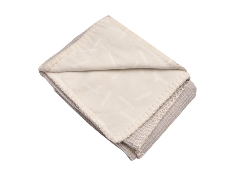 Dreamer Flannel/Honeycomb Ivory 75x100 cm 1