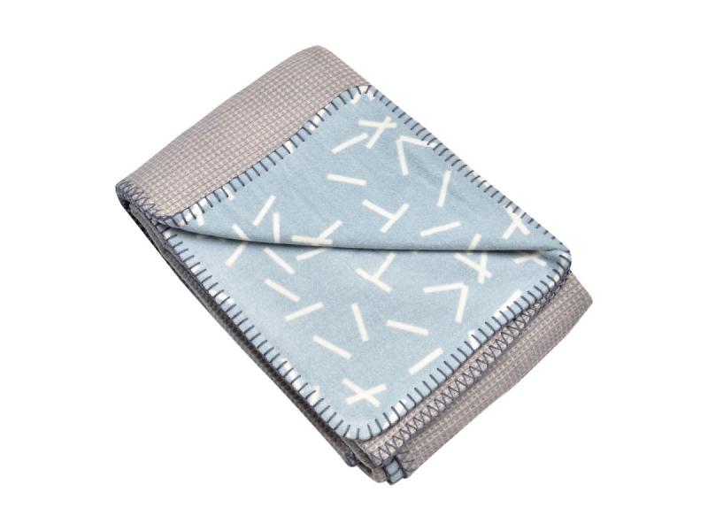 Dreamer Flannel/Honeycomb Steel Grey 110x140 cm 1