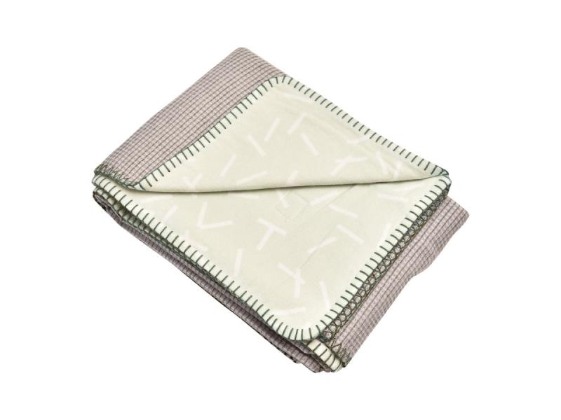 Dreamer Flannel/Honeycomb Leaf 110x140 cm 1