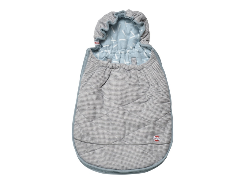 Lodger Mini-Bunker Flannel/Honeycomb Steel Grey