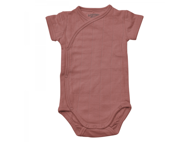 Body Romper Fold Over Solid Plush vel. 68 1
