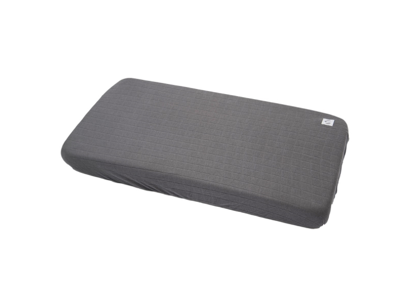 Lodger Slumber Solid do postýlky 70 x 140 cm Carbon