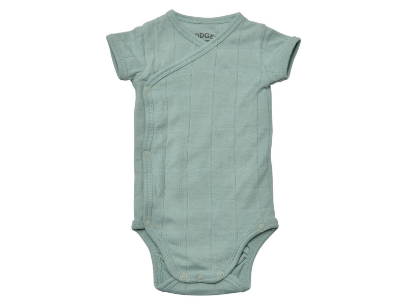 Lodger Romper Fold Over Solid Feather vel. 74