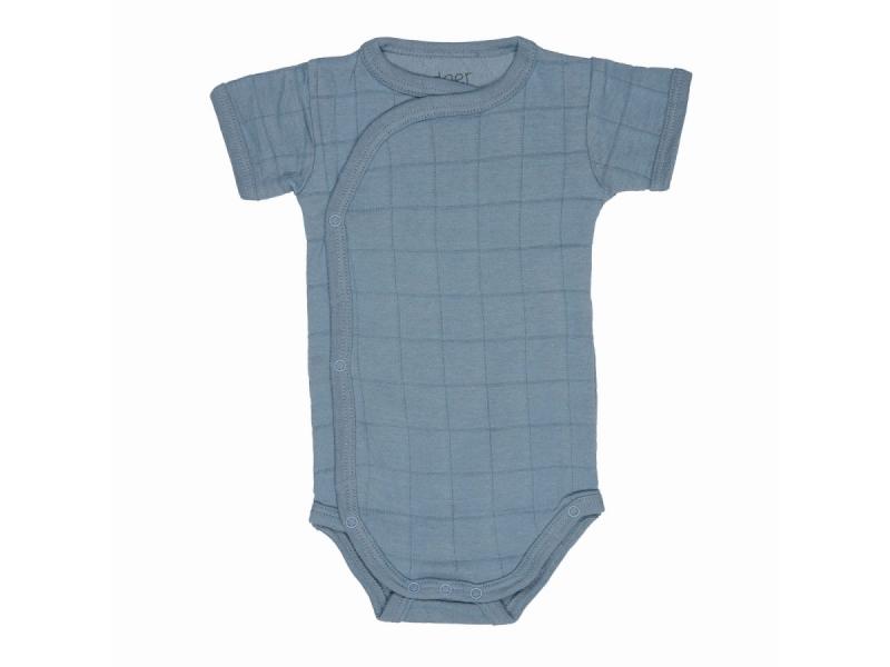 Romper Solid Short Sleeves Ocean vel. 56 1