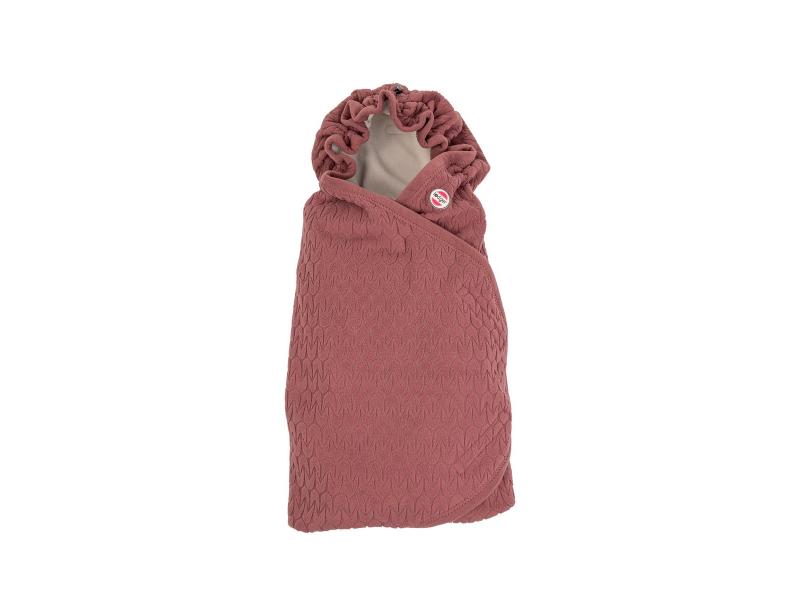 Lodger Wrapper Fleece Empire Rosewood
