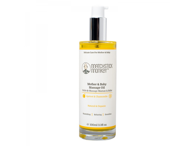 Mother & Baby Massage Oil, 100 ml 1