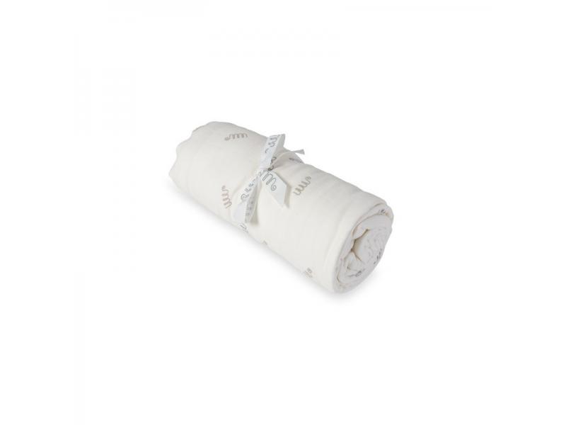 Matchstick Monkey Luxusní bambusová deka, potisk logo MM