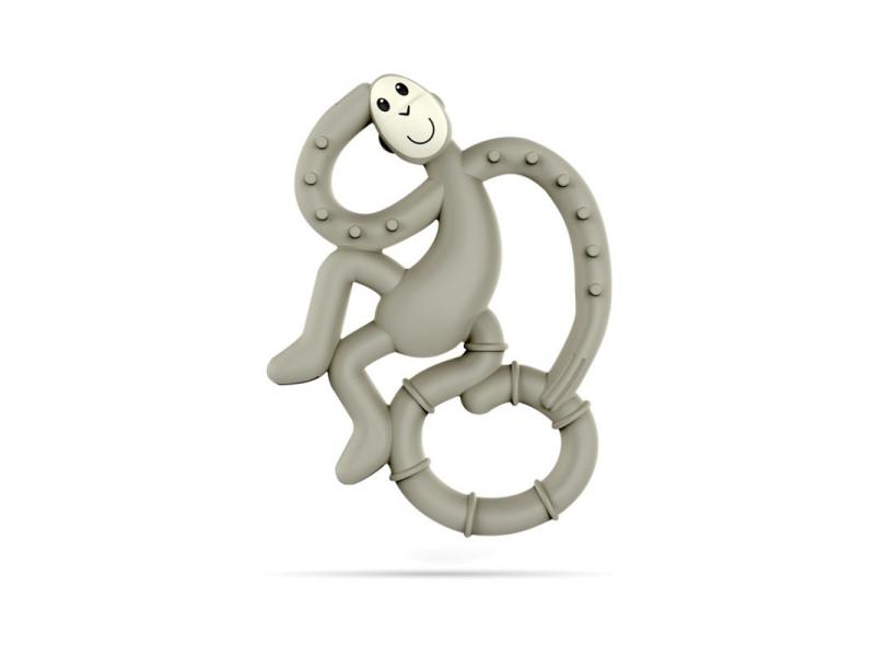 BioCote®  Mini Monkey Teether, šedá 1