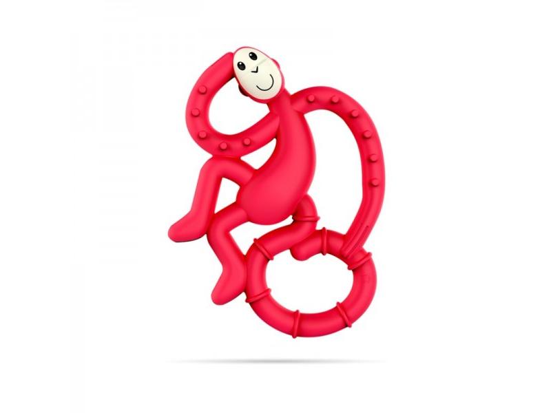 BioCote®  Mini Monkey Teether, Rubínová 1