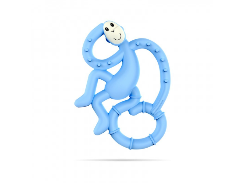 BioCote® Mini Monkey Teether, sv.modrá 1