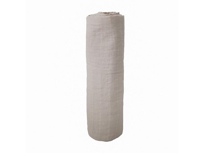 mušelínová zavinovačka z organické bavlny Fog 1