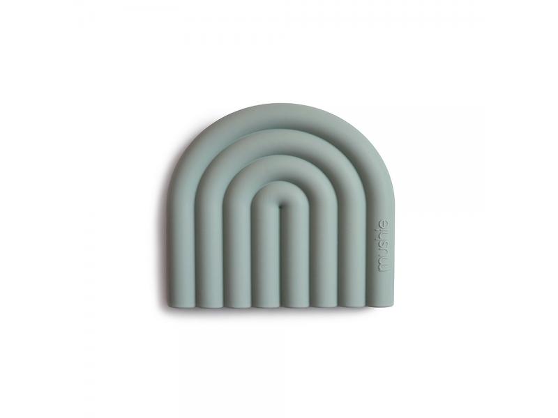 silikonnové kousátko RAINBOW, Cambridge Blue 1