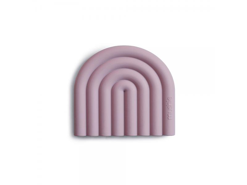 silikonnové kousátko RAINBOW, Mauve 1