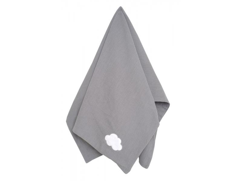 Dětská deka šedá 1