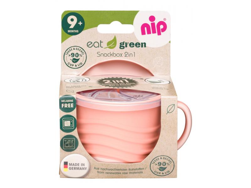 GREEN line snackbox 2v1, 1ks, orange 1