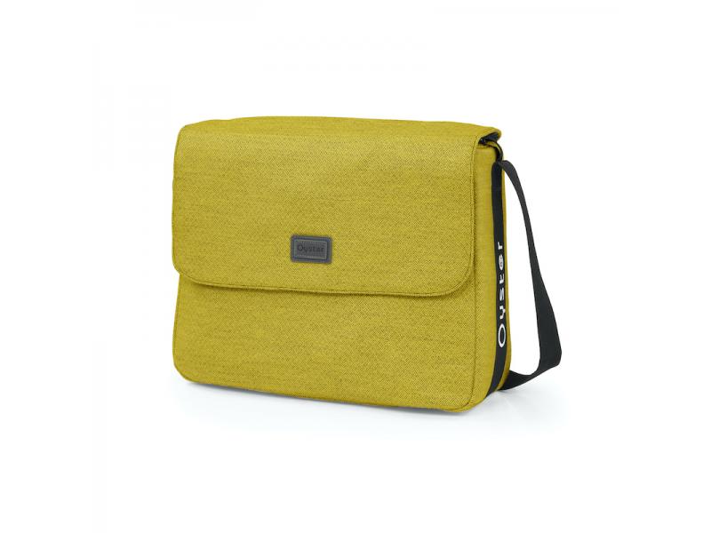 3/ZERO taška s přebalovací podložkou MUSTARD 2022 1
