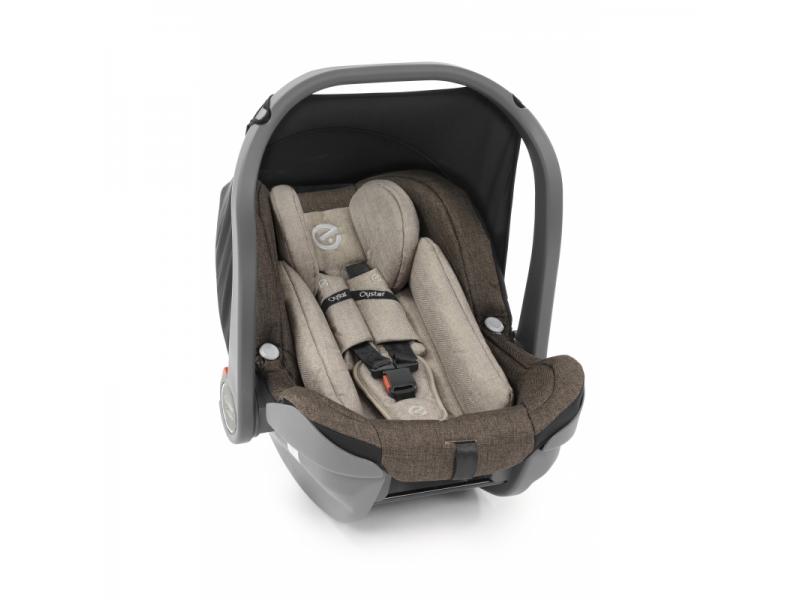 Oyster Carapace INFANT ( i-Size ) autosedačka - TRUFFLE