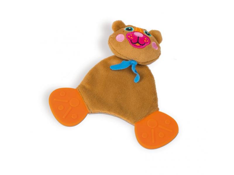 Easy-Doudou Friends! - Zvířecí kousátka Medvěd 1