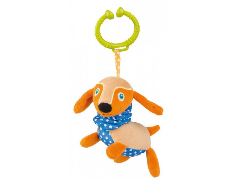 O-oops Easy-Long Friends! - Vibrační závěsná hračka Pes