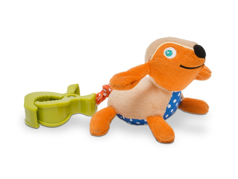 O-oops Easy-Move! - Vibrační zvířátko s klipem Pes