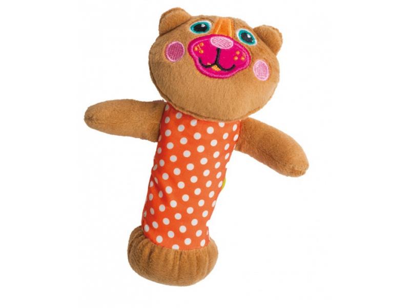 O-oops Easy-Squeak! - Pískací hračka Medvěd