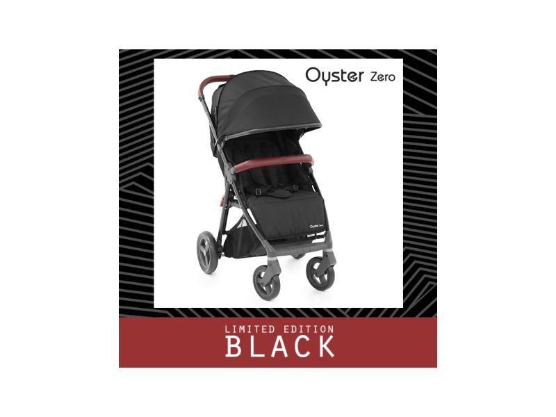 Oyster ZERO kočárek LIMITED EDITION BLACK STEALTH