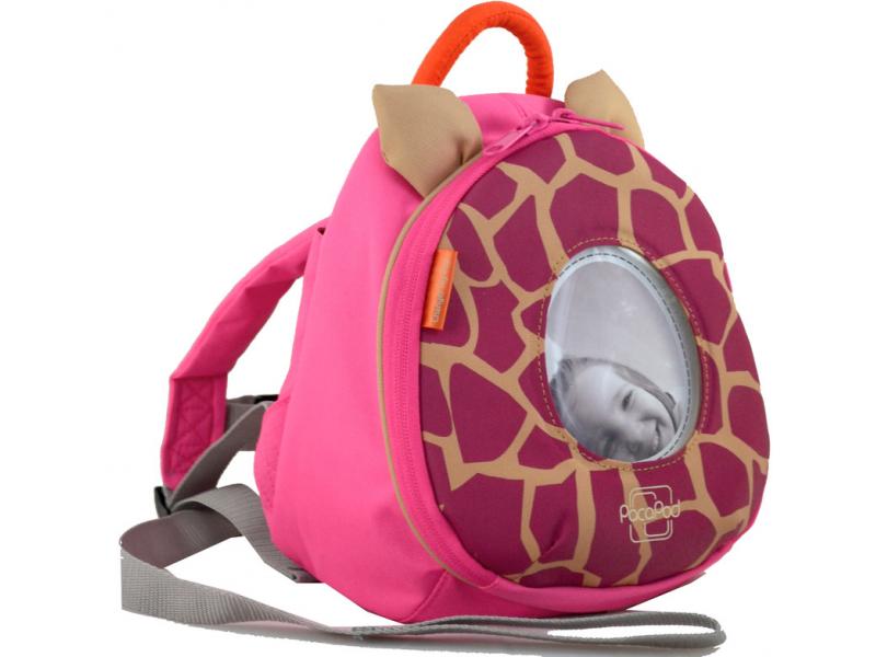 PacaPod BATŮŽEK Toy Pod žirafa - růžový