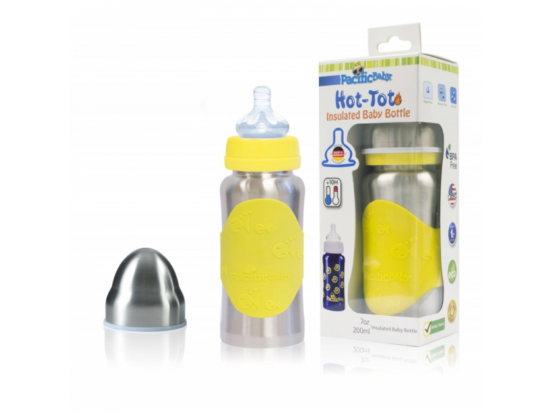 Pacific Baby Hot-Tot Termoska 200ml Žlutá / Stříbrná