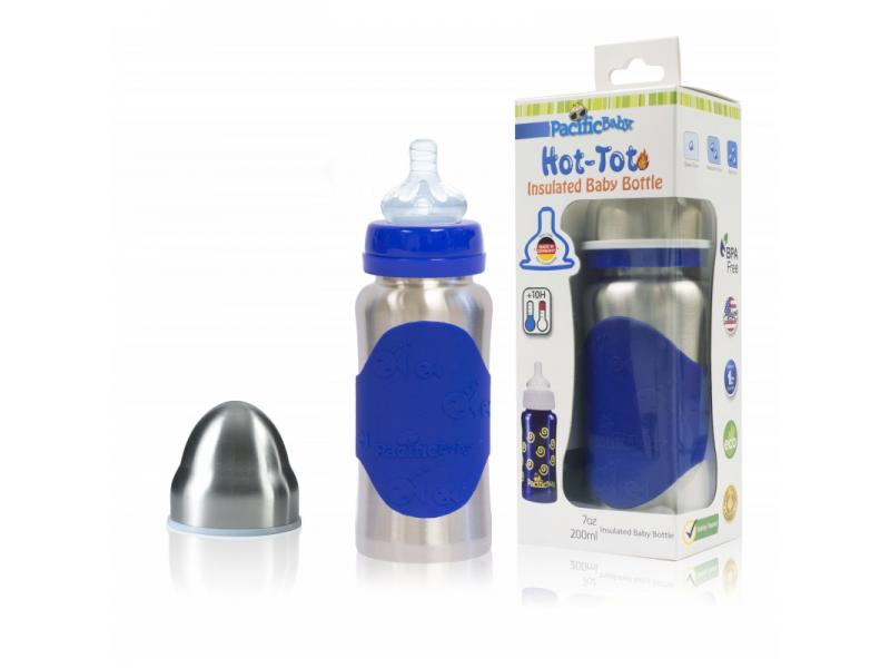 Pacific Baby Hot-Tot Termoska 200ml Modrá/Stříbrná
