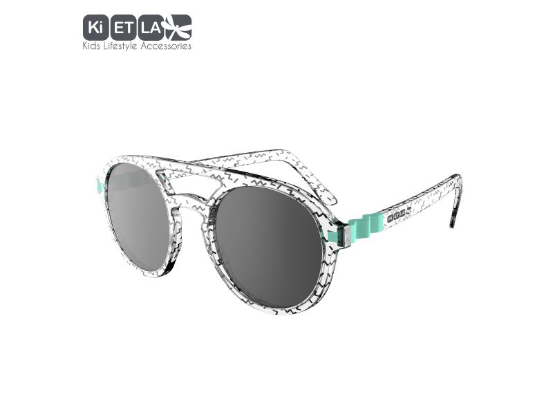 Ki ET LA Dětské sluneční brýle CraZyg-Zag 9-12 let pilotky - ZygZag