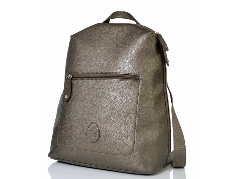PacaPod HARTLAND šedostříbrná - přebalovací taška i batoh