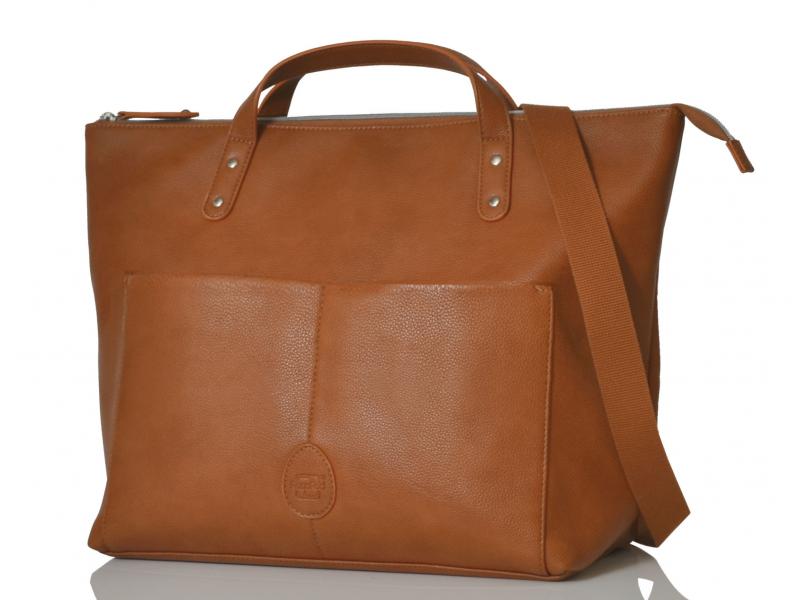 PacaPod SAUNTON hnědá - přebalovací taška i batoh