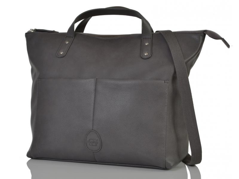 PacaPod SAUNTON šedá - přebalovací taška i batoh
