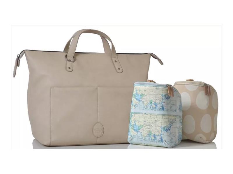PacaPod SAUNTON chalk - přebalovací taška i batoh