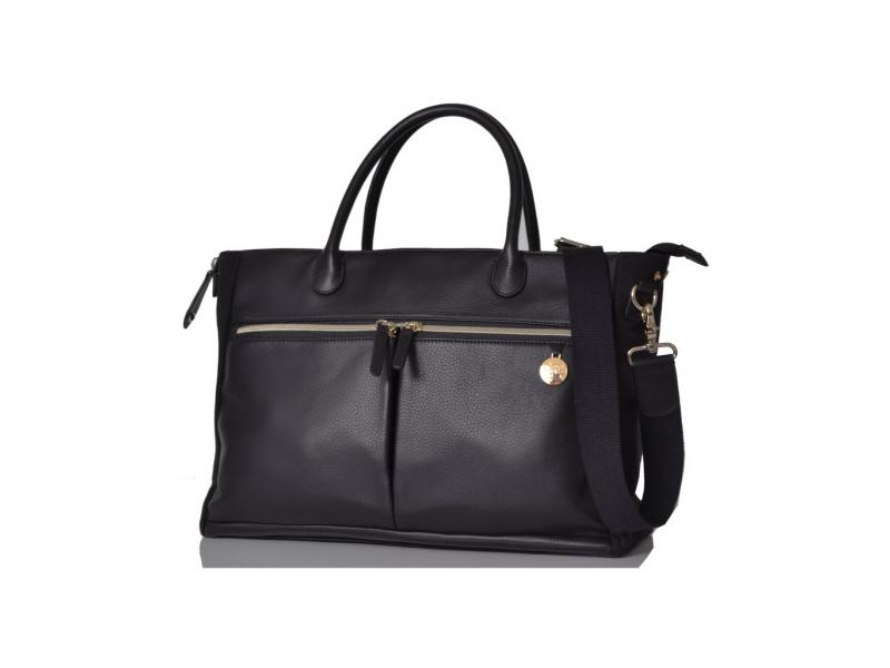PacaPod FORTUNA černá - přebalovací taška i kabelka