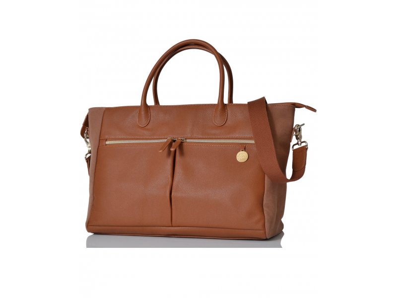PacaPod FORTUNA hnědá - přebalovací taška i kabelka