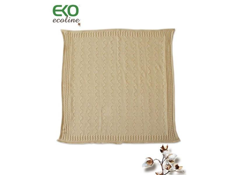 Eko Dětská deka 70x80 COPÁNKY béžová