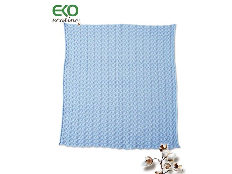Eko Dětská deka 80x90 VOLÁNEK modrá